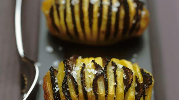 Rezept: Fächerkartoffeln mit Trüffel