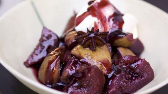Rezept: Feigen-Gewürz-Dessert mit Honig