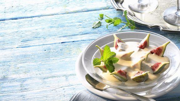 Rezept: Feigen mit Joghurtcreme