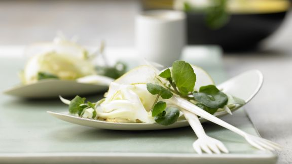 Rezept: Fenchel-Birnen-Salat