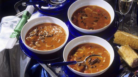 Rezept: Feurige Bohnensuppe