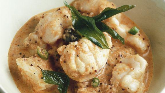 Rezept: Fisch Curry nach Malabar-Art (Indien)
