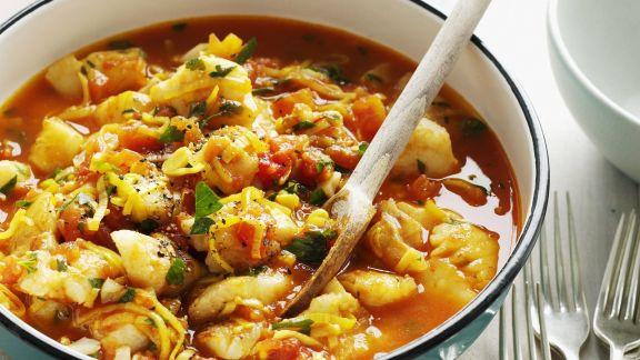 Rezept: Fisch-Gemüse-Topf