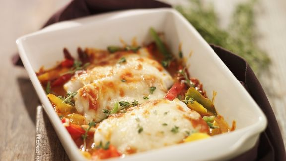 Rezept: Fisch-Gratin mit Gemüse