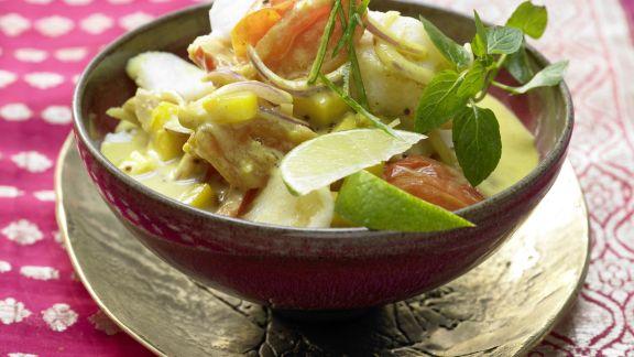 Rezept: Fisch-Kokos-Curry