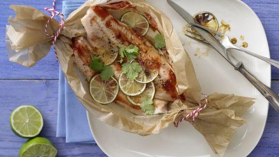 Rezept: Fisch-Limetten-Päckchen