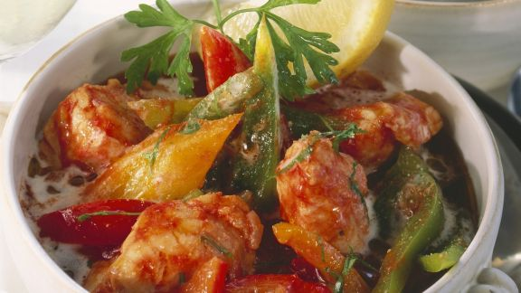 Rezept: Fisch-Paprika-Topf