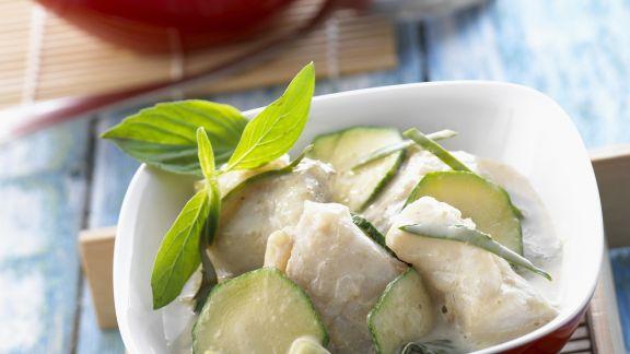 Rezept: Fisch-Zucchini-Curry