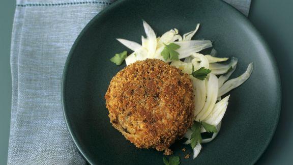 Rezept: Fischbratling auf Fenchelsalat