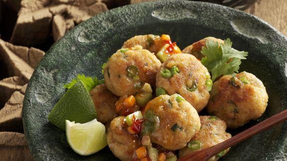 Rezept: Fischbuletten auf thailändische Art