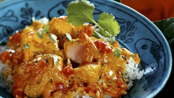 Rezept: Fischcurry auf indische Art