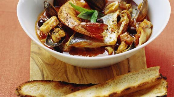 Rezept: Fischeintopf auf ligurische Art