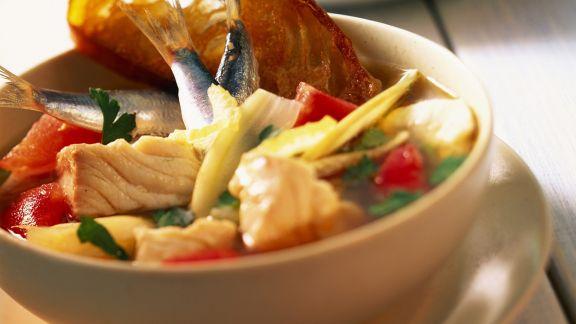 Rezept: Fischeintopf auf mallorquinische Art
