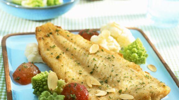 Rezept: Fischfilet nach Müllerin-Art