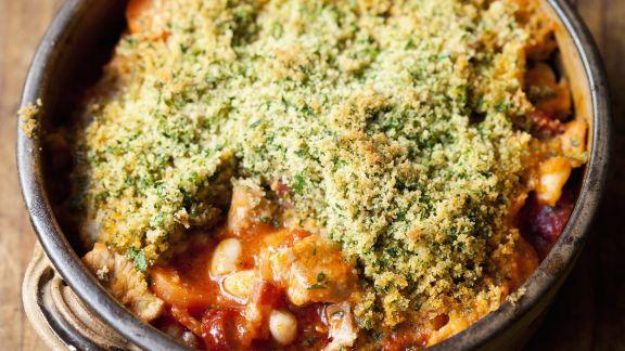 Rezept: Fleisch-Bohnen-Topf auf französische Art