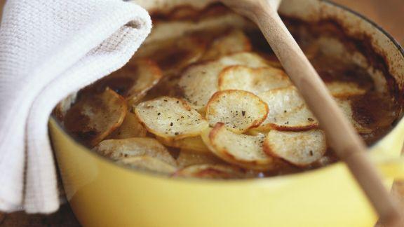 Rezept: Fleisch-Kartoffel-Auflauf auf englische Art