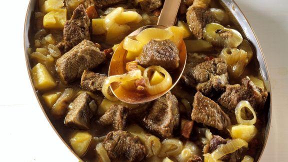 Rezept: Fleisch-Zwiebel-Eintopf auf Dresdner-Art