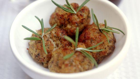 Rezept: Fleischbällchen mit Kräutern