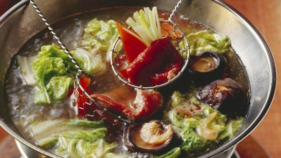 Rezept: Fondue auf chinesische Art