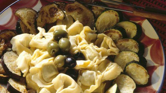 Rezept: Fondue aus Gorgonzola mit Tortellini