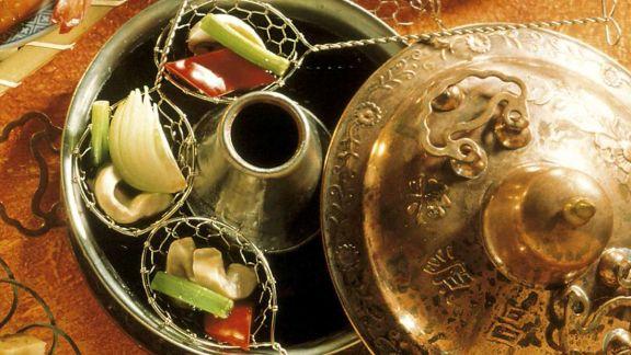 Rezept: Fondue nach chinesischer Art