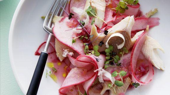 Rezept: Forellen-Rettich-Salat