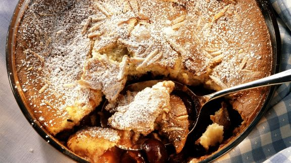 Rezept: Französischer Kirschkuchen