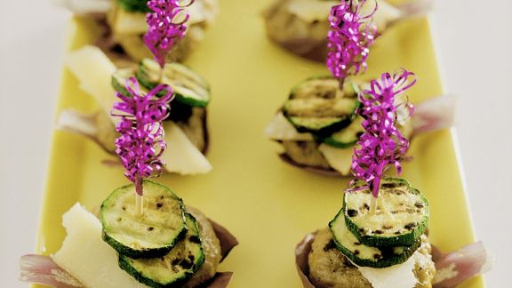 Rezept: Frikadellen mit Zucchini