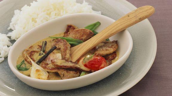 Rezept: Frikassee mit Curry-Vanille-Sauce
