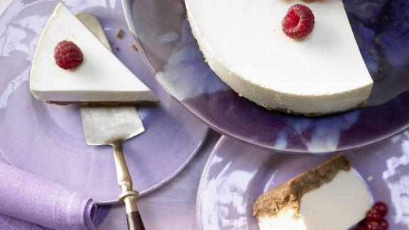 Rezept: Frischkäse-Joghurt-Torte