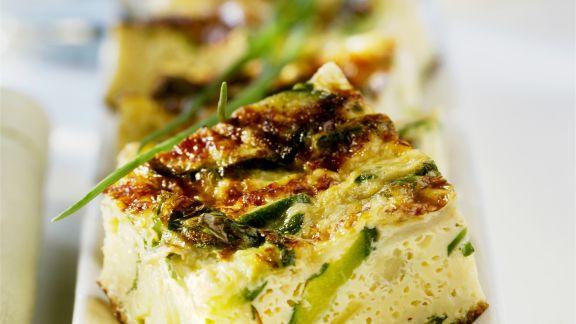 Rezept: Fritatta mit Zucchini