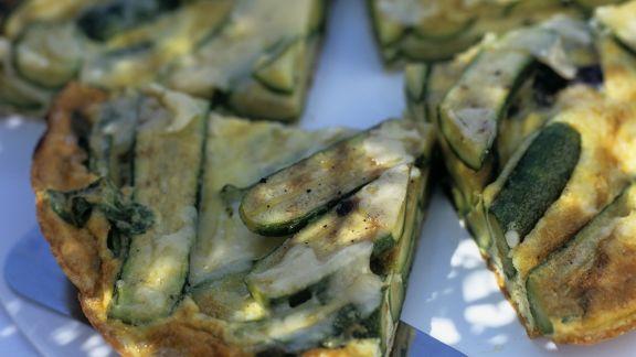 Rezept: Frittata mit Zucchini