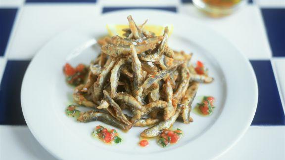 Rezept: Frittierte Sardinen