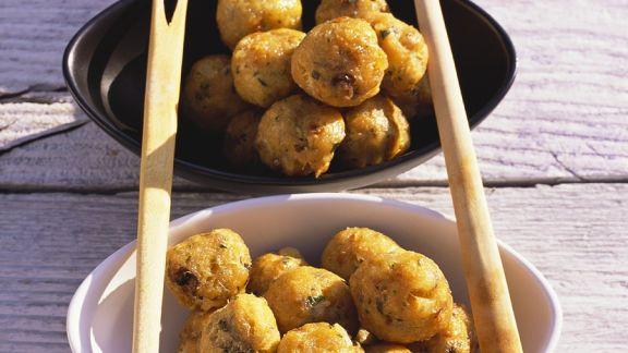 Rezept: Frittierte Stockfischbällchen