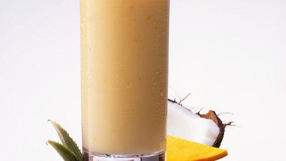 Rezept: Frucht-Kokosshake