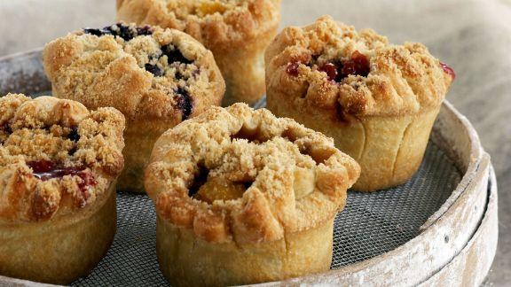 Rezept: Frucht-Muffins mit Streuseln