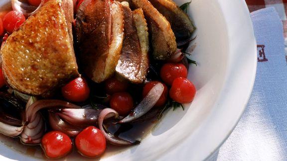 Rezept: Fruchtige Ente nach französischer Art
