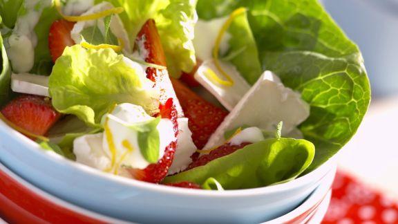 Rezept: Fruchtiger grüner Salat