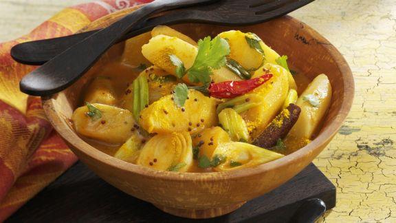 Rezept: Fruchtiges Schwarzwurzel-Curry