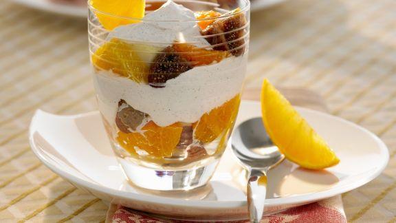 Rezept: Fruchtsalat mit Rotwein-Feigen