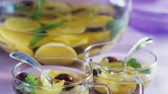Rezept: Früchte-Bowle