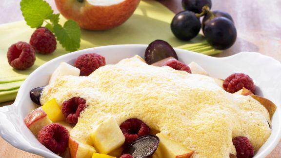 Rezept: Früchteauflauf