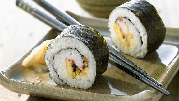 Rezept: Futomaki-Sushi