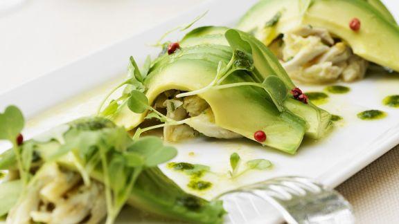 Rezept: Garnelenfleisch mit Avocado