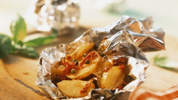 Rezept: Gebackene Käse-Kartoffeln