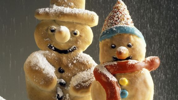 Rezept: Gebackene Schneemänner