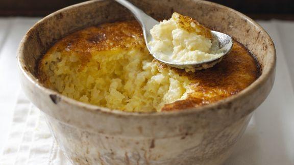 Rezept: Gebackener Reispudding