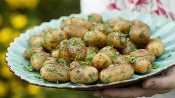 Rezept: Gebratene Kräuter-Kartoffeln