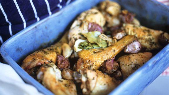 Rezept: Gebratenes Knobi-Hähnchen