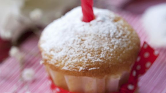 Rezept: Geburtstags-Muffin